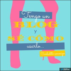 presentacion tengo un blog y sé cómo usarlo