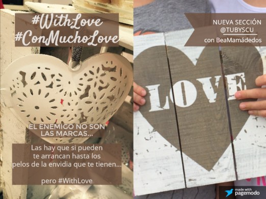#WhithLove si pueden