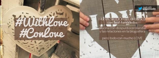 #WhithLove portada: alucina, vecina