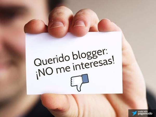 colaboración blogger marca