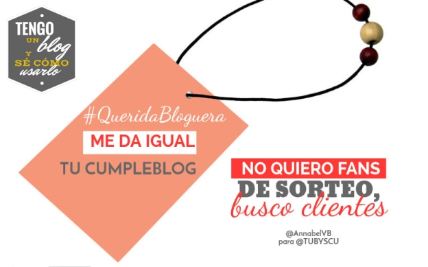 Querida Bloguera - Annabel VB
