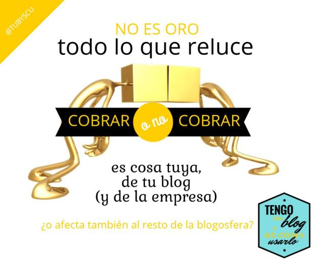 COBRAR O NO COBRAR